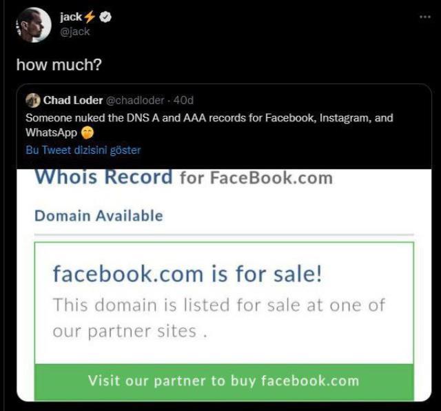 Facebook hacklendi mi? Facebook verileri satıldı mı? Twitter kurucusu Jack tweetledi!