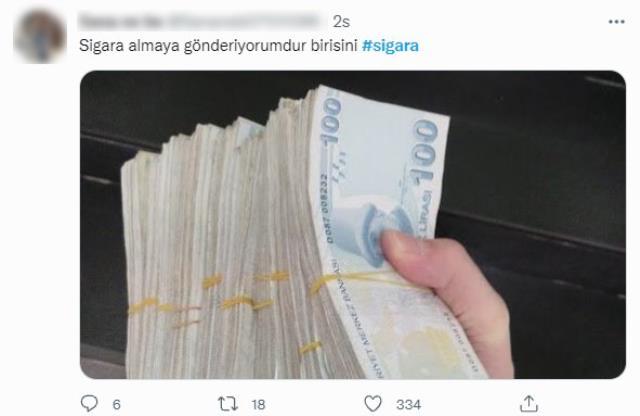 Sigaraya zam geldi, sosyal medya yıkıldı! Vatandaşlar birbirinden esprili paylaşımlar yapıyor