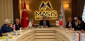 Recep Şeker: Kırgızistan Enerji ve Sanayi Bakanı Bekmurzayev'den MASİS'e ziyaret