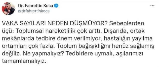 Son Dakika: Türkiye'de 6 Ekim günü koronavirüs nedeniyle 236 kişi vefat etti, 30 bin 438 yeni vaka tespit edildi