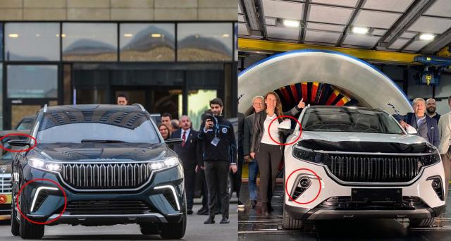 Yerli otomobil TOGG'dan yeni görsel! Daha piyasaya çıkmadan değişime uğradı