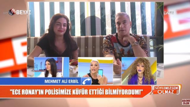 Mesajları ifşa olan Mehmet Ali Erbil, Deniz Akkaya ile birbirine girdi: Sana belden aşağı çok iyi vururum