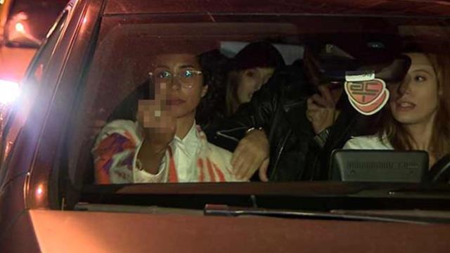 Ünlülerin partisi olaylı bitti! Alkollü araç kullanan Ece Sükan'ın ehliyetine el konuldu
