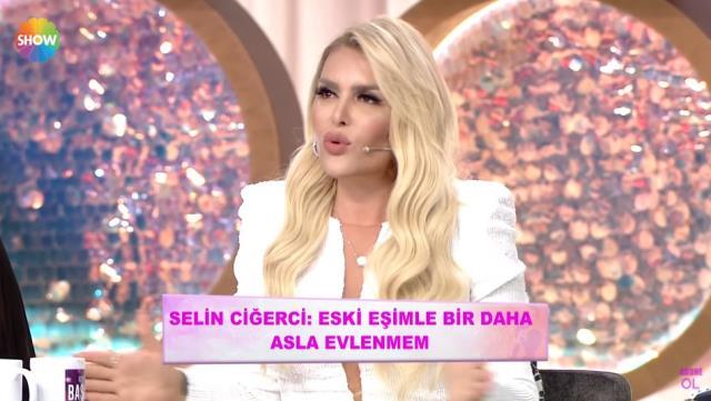 Gökhan Çıra ile boşanan Selin Ciğerci, biten evliliğinden bahsederken gözyaşlarına hakim olamadı
