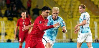 Serdar Aziz: 2022 Dünya Kupası Elemeleri: Türkiye: 1 - Norveç: 1 (Maç sonucu)