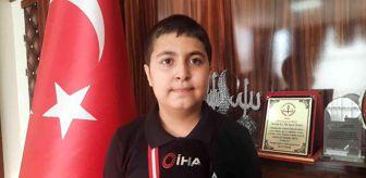 Şanlıurfa: Türkiye Satranç Şampiyonası'nda ikinci olan olan milli takım oyuncusuna ödülü verildi