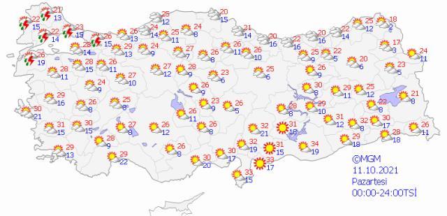 Şiddetli geliyor! İstanbul dahil onlarca ilde 3 gün boyunca sağanak yağış bekleniyor