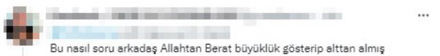 İlk kez milli formayı giyen Berat'a sorulan soru kıyameti kopardı! Muhabire tepkiler çığ gibi