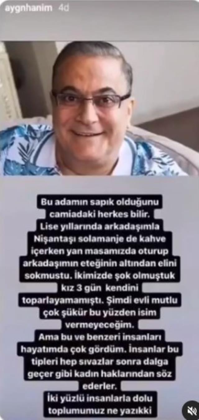 Aygün Aydın, Mehmet Ali Erbil'in yıllar önceki tacizini ifşa etti: Arkadaşımın eteğinin altından elini sokmuştu