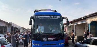 Muharrem İnce: Memleket Partisi Genel Başkanı İnce'nin ziyaretleri