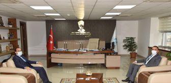 Manisa: İl Sağlık Müdürü Erkuş'tan Genel Müdür Aslay'a ziyaret