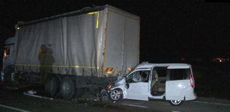 Sarnıç: Konya'da 4 aracın karıştığı zincirleme trafik kazasında 1 kişi öldü, 1 kişi yaralandı