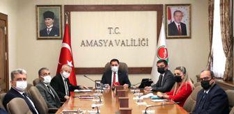 Mehmet Sarı: Valimiz Mustafa Masatlı Yeşilırmak Nehir Yatağının Düzenlenmesi Çalışmalarına İlişkin Toplantıya Başkanlık Etti