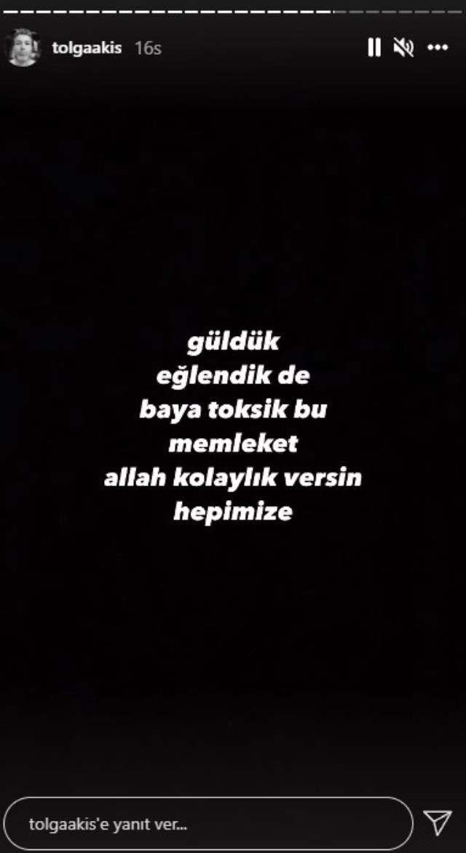 Tolga Akış, eşi Zeynep Bastık ve Edis'in sarmaş dolaş dans videosuyla ilgili sessizliğini bozdu