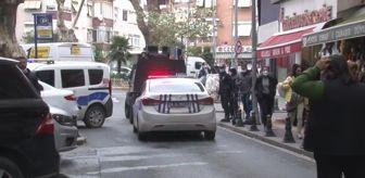 Birevim: Pendik'te Birevim önünde benzinli intihar girişimi