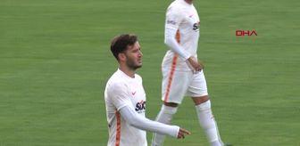 Emre Kılınç: SPOR Galatasaray, hazırlık maçında İstanbulspor ile 3-3 berabere kaldı