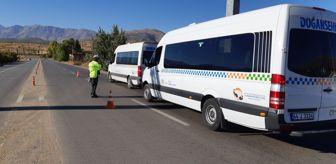Doğanşehir: Doğanşehir'de trafik denetimi gerçekleştirildi