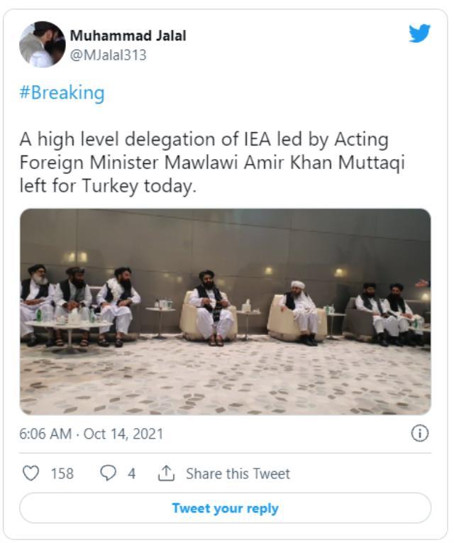 İlk resmi temas! Taliban heyeti bugün Bakan Çavuşoğlu'nun davetiyle Türkiye'ye geliyor