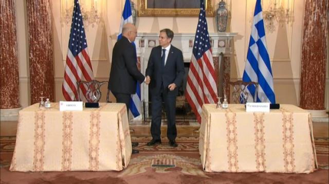 Yunan- ABD görüşmesinde çok konuşulacak 'Doğu Akdeniz savaşı' sözleri! Resmen tehdit etti