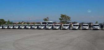 Kenan Yıldız: Son dakika haberi: Emniyet Müdürlüğüne hibe edilen 22 ekip aracı, hizmete alındı