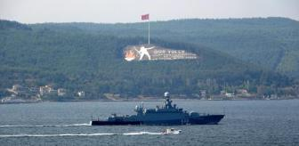 Çanakkale Boğazı: Son dakika haber   RUS SAVAŞ GEMİSİ, ÇANAKKALE BOĞAZI'NDAN GEÇTİ