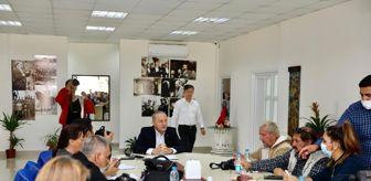 Cumhuriyet Mahallesi: Başkan Atabay, gazeteciler ile bir araya geldi