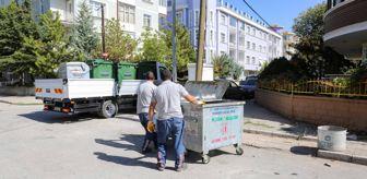 Meram Belediyesi: Meram'da çöp konteynerleri değiştiriliyor