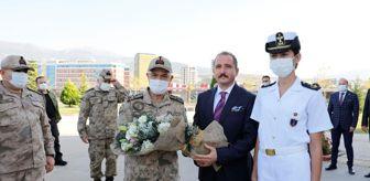 Denizcilik: Jandarma Genel Komutanı Orgeneral Çetin, İskenderun Teknik Üniversitesini ziyaret etti