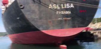 Kocaeli: İzmit Körfezi'ni kirleten gemiye 3 milyon 28 bin 355 lira ceza