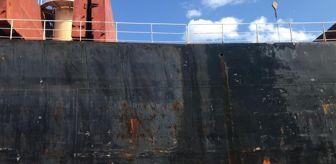 Kocaeli: İzmit Körfezi'ni kirleten gemiye 3 milyon lira para cezası