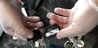 Çay: Jandarma uyuşturucuyu otomobil kumandalarından çıkarttı