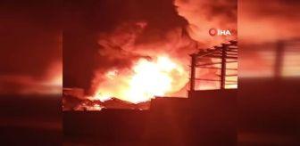 Yangın: Mısır'da kimya fabrikasında büyük yangın