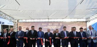 Doğu Karadeniz Projesi: Sanayi ve Teknoloji Bakanı Varank, Tokat Belediyesi Çamurdan Elektrik Üretim Tesisi'nin açılış kurdelesini katılımcılarla kesti