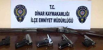 Karahisar: Çocuklara silahlarla ateş ettiren 2 kişi gözaltına alındı