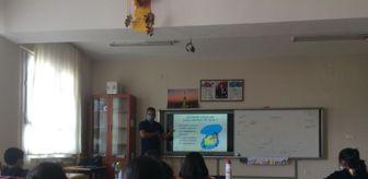 Aladağ: Aladağ'da öğrencilere gıda güvenliği semineri verildi