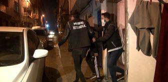 Kağıthane: Son dakika... İstanbul'da uyuşturucu tacirlerine eş zamanlı operasyon