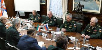Beşşar Esed: Son dakika... Rusya Savunma Bakanı Şoygu: 'Rusya ve İran, uluslararası terörle aktif olarak mücadele ediyor'