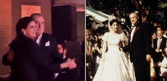 Fatih Terim'den müthiş dans! Don Corleone yanında sönük kalır