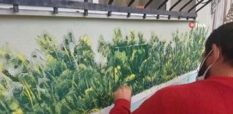 Manisa: Yatarak tedavi gören hastalara sanat dallarıyla rehabilitasyon