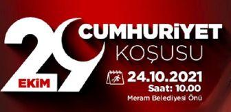 Meram Belediyesi: Meram'da '29 Ekim Cumhuriyet Koşusu' sporseverleri buluşturacak