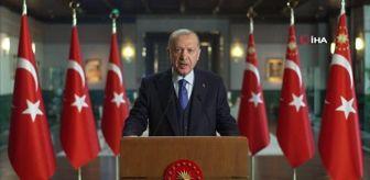 Recep Tayyip Erdoğan: Son dakika haberi! Cumhurbaşkanı Erdoğan: '2021'i yüzde 9'luk bir büyüme ile tamamlamayı öngörüyoruz'