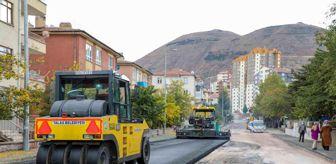 Talas Belediyesi: Talas Rüzgarlı caddesinde komple bakım yapılıyor