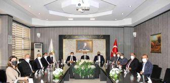 Ali Alagöz: Gaziantep Emniyet Müdürü Başbuğ'dan GTB'ye ziyaret