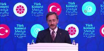 Fuat Oktay: İletişim Başkanı Altun: 'Kimsenin 'basın özgürlüğü' kisvesi altında, ülkemizde 5. kol faaliyeti yürütmesine müsaade etmeyeceğiz'