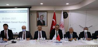 Tesk: SUBÜ Rektörü Prof. Dr. Sarıbıyık, MYK Başkanvekilliğine yeniden seçildi