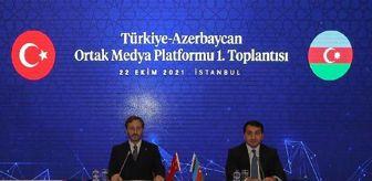 Fuat Oktay: Türkiye-Azerbaycan Ortak Medya Platformu'nun ilk toplantısı yapıldı