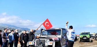 Adnan Günnar: KARADENİZ OFF-ROAD KUPASI YARIŞLARINDA HEYECAN ZİRVE YAPTI