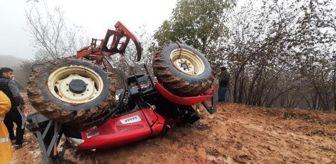 Traktör: Traktör devrildi, sürücü öldü