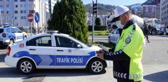 Trafik Denetleme: Giresun'da kural ihlali yapan araçlar drone tarafından görüntülendi