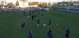 Sivas Belediyesi: Gazi Lisesi, Kadınlar Futbol 2. Ligi'ne şampiyonluk parolasıyla hazırlanıyor
